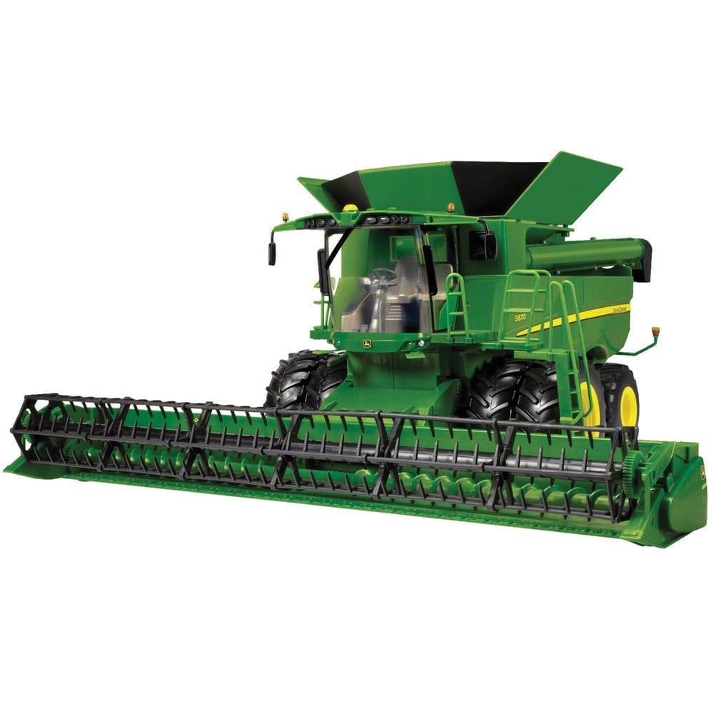 1:16 Big Farm John Deere S670 Combine w/630R Grain Head