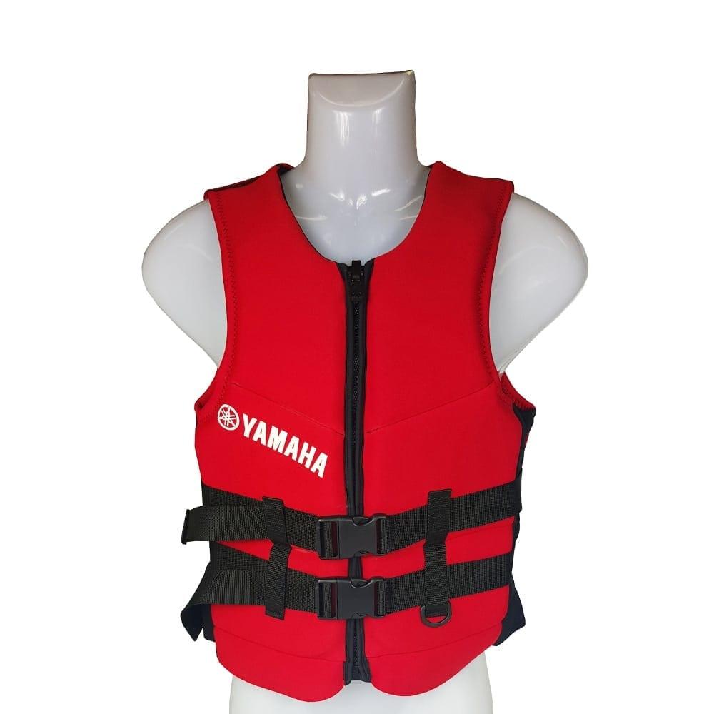 Yamaha Level 50 Red Neoprene Life Vest Drummond Etheridge